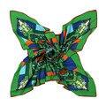 Люксовый бренд мусульманская 130 x 130 большой площади шарф 100% саржевые шелк летом пляж пашмины классика геометрическая цветочный платок