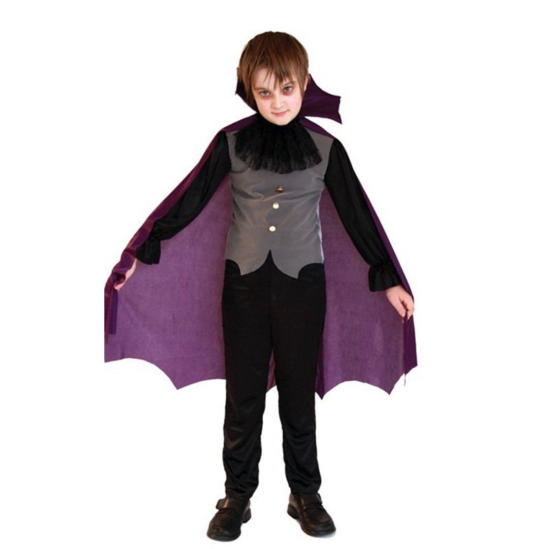 new boy vampire cloak cosplay children halloween dracula costume kids devil demon role play carnival masquerade rave party dress - Raving Rabbids Halloween Costume