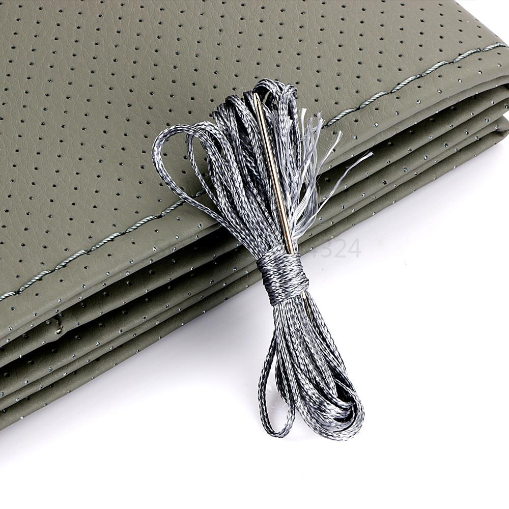 HTB1jHm2PXXXXXaaaXXXq6xXFXXXw - Braid On Steering Wheel Car Steering Wheel Cover With Needles and Thread Artificial leather Diameter 38cm Auto Car Accessories