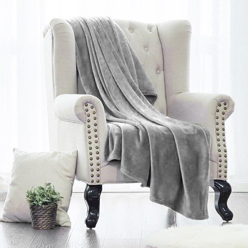 Мягкие Лидер продаж Пледы Одеяло для Постельные принадлежности на кровать теплые коралловые диван Одеяла путешествия фланель диван из мас...