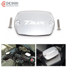 with logo for yamaha t-max 500 08-11 tmax 530     motorcycle brake fluid reservoir cap cover one piece