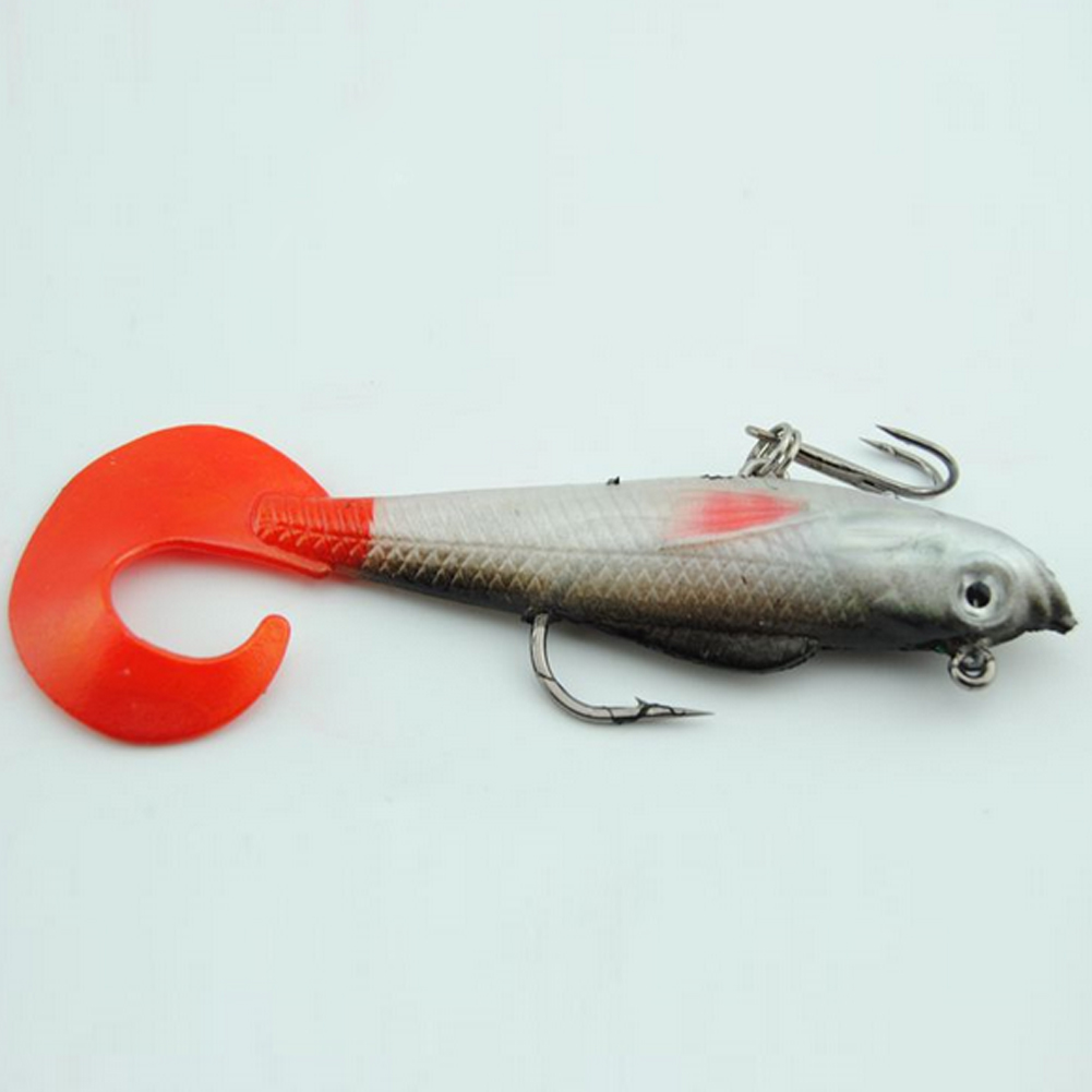 Fishing Lure Red Fishtail 10cm 9.3g Crankbait Wobblers Artificial Plastic Hard Bait peche Fishing Tackle