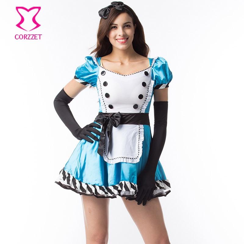 Role Playing Games Clubwear Fairy Tale Alice In Wonderland -6856