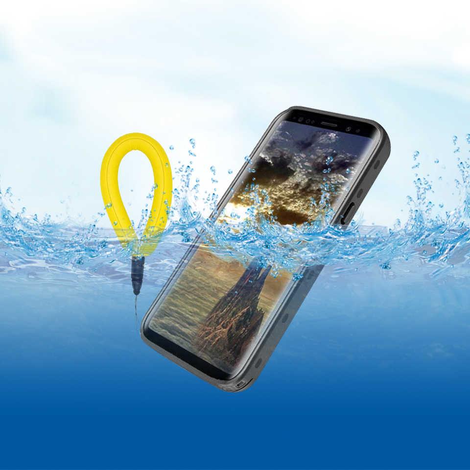 Для samsung s8 S9 S9Plus IP68 SwimWaterproof случае открытый противоударный для Примечание 8 плюс s9