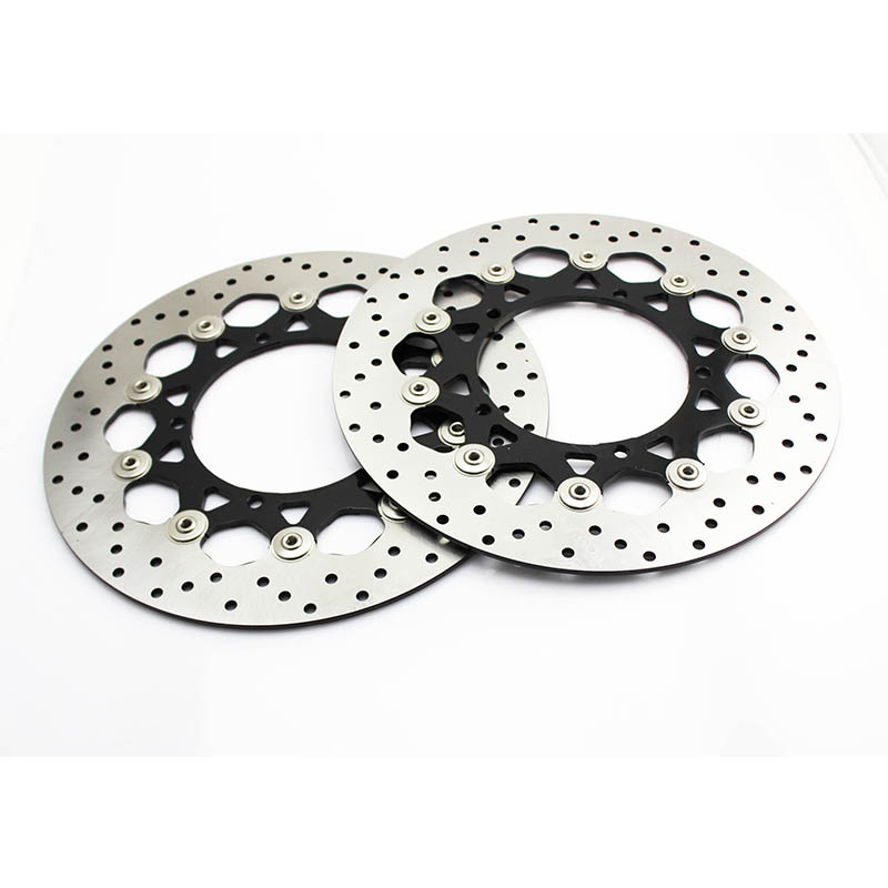 Motorcycle front brake discs rotor for yamaha R1 320mm YZF-R1 2004-2006 YZF R1 2004 2005 2006 YZFR1 04 05 06 motorcycle part front rear brake disc rotor for yamaha yzf r6 2003 2004 2005 yzfr6 03 04 05 black color