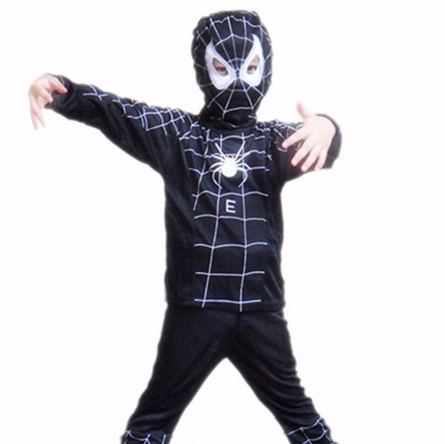 10 teile/los super hero kinder thema partei kostüm spiderman ...