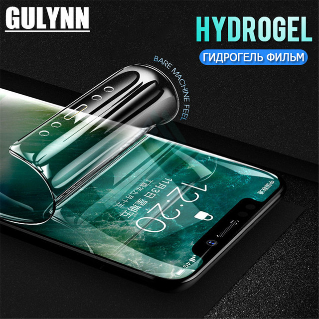 brand new 519e6 04a84 US $0.65 25% OFF|3D Full Protective Soft Hydrogel Film For iPhone 8 7 6s  Plus Cover For IPhone X 6s 8 7 Plus Screen Protector Film ( Not Glass )-in  ...
