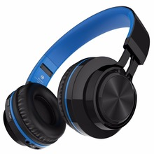 Sound Intone BT-06 Wireless Bluetooth Headphone Foldable Stereo Headsets with Mic Support TF Card Headphones for Xiaomi Meizu