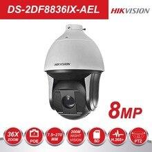 Hikvision Super HD Pan& Tile 360 градусов камера видеонаблюдения DS-2DF8836IX-AEL 8MP 7,5-270 мм 36X зум ИК PTZ IP камера POE