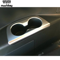 For Nissan Serena Rear Water Cup Holder Decorative Cover Or Rear Trunk Button Frame Matte Style