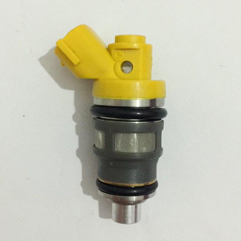 E85 Flow matched 650cc side feed Fuel injectors for Toyota Supra 1JZ-GTE  2JZ-GTE subaru wrx 1001-87091