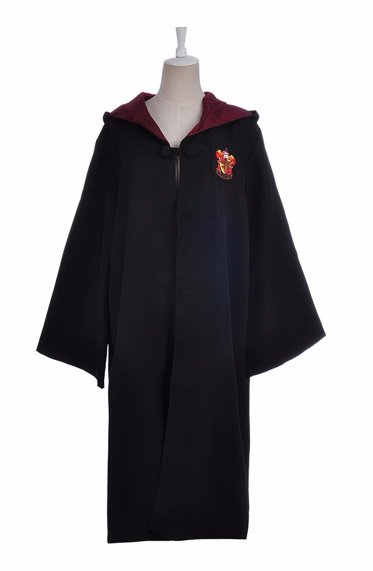 HTB1jHnFah9YBuNjy0Ffq6xIsVXa5 - Robe Gryffindor Slytherin Ravenclaw Hufflepuff Cosplay Costumes Kids Adult Cape Cloak Matching Birthday Gifts Harris Costume