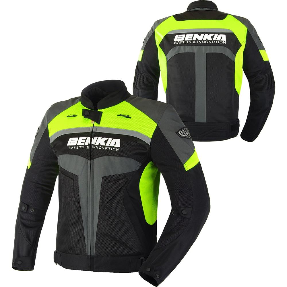 BENKIA Chaqueta de moto Hombres Ropa de carrera Primavera y otoño - Accesorios y repuestos para motocicletas - foto 2