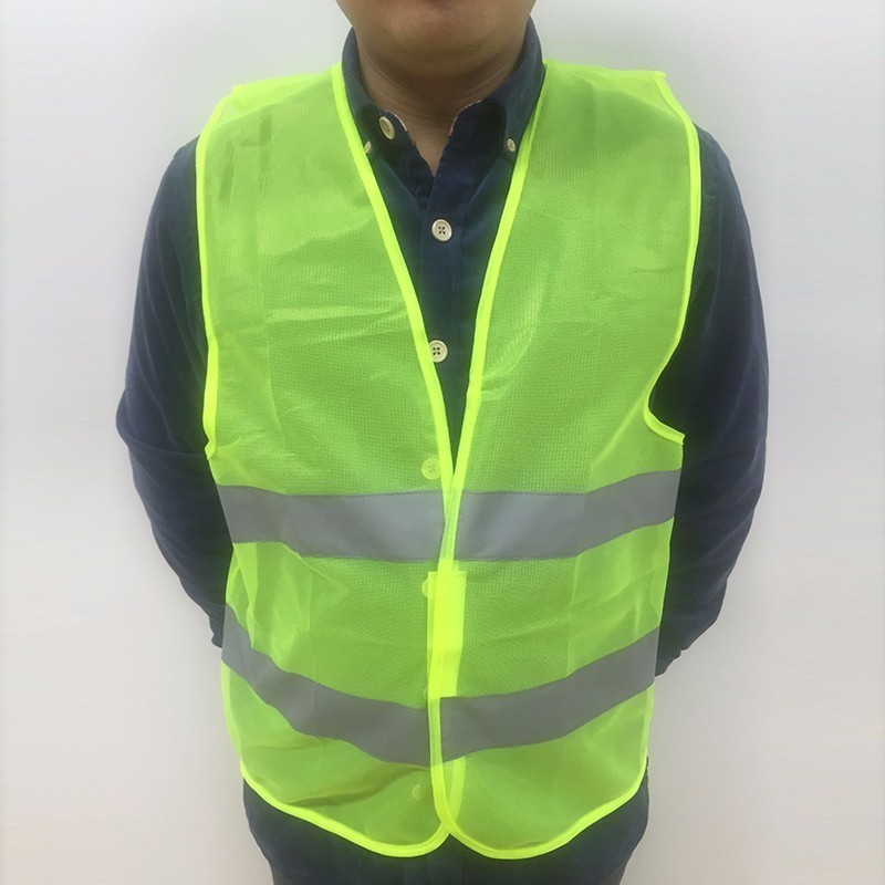 Plus Size L-XXXL Reflective Vest Working Clothes Provides High Visibility Day  Night For Running Cycling Warning Safety vest