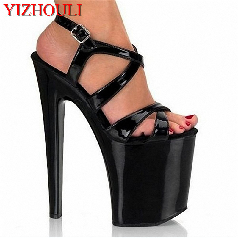 8 inch high heel shoes sexy for women pole dancing strappy sandals 20cm clubbing high heels Dance Shoes 20cm neon green heels sexy women sexy clubbing dance shoes platforms shoes 8 inch high heel shoes star exotic shoes