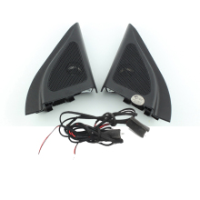 For Hyundai ix25 CRETA speakers tweeter car styling Audio trumpet head speaker ABS material triangle speakers tweeter