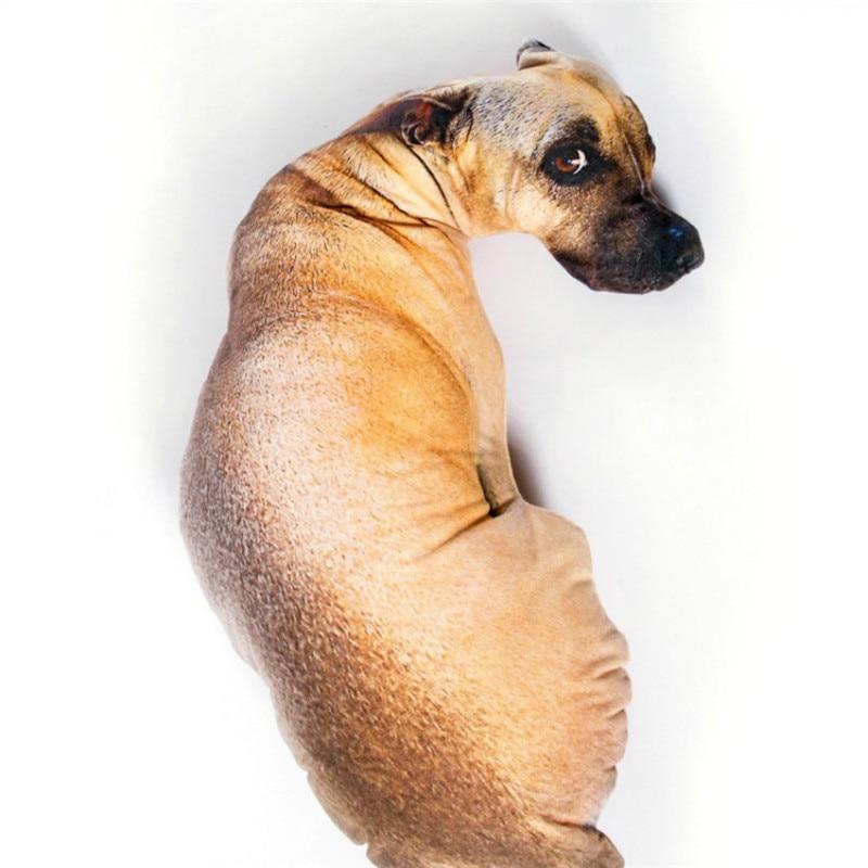 귀여운 강아지 쿠션 동물 만화 베개 패션 크리 에이 - 홈 섬유