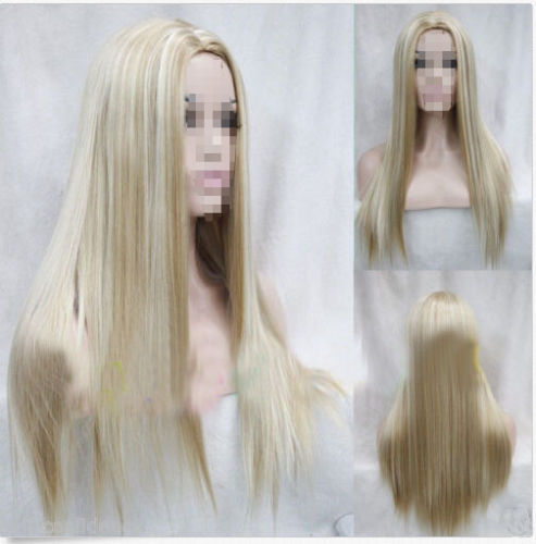 Hot Sell!  New Womens Long Straight Fashion Wig Top Hair Cosplay Party Anime Wigs