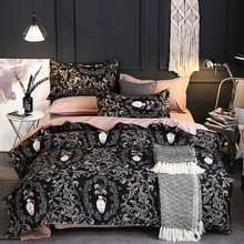 Printed national luxury court style four-piece Home  comforter bedding sets set 3&4 pcs