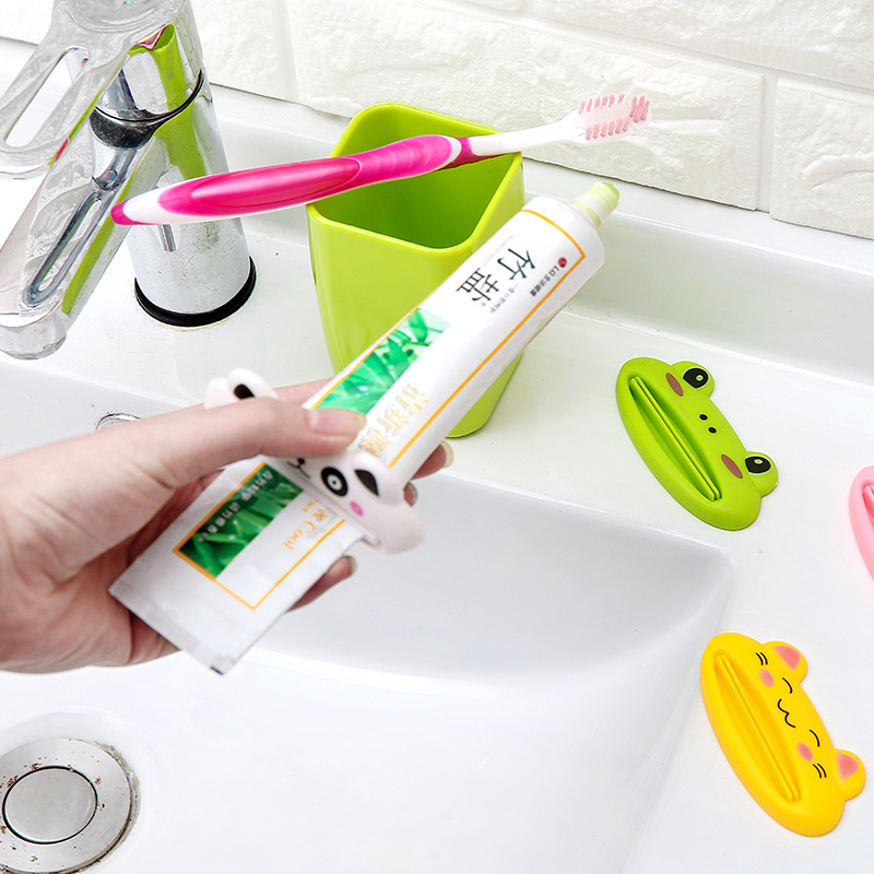 Image 4 - 10pcs/Set Multifunctional Easy Cartoon Toothpaste Dispensers Squeezers Home Bathroom Toothpaste Tubes Rolling Holders Squeezer-in Toothpaste Squeezers from Home & Garden