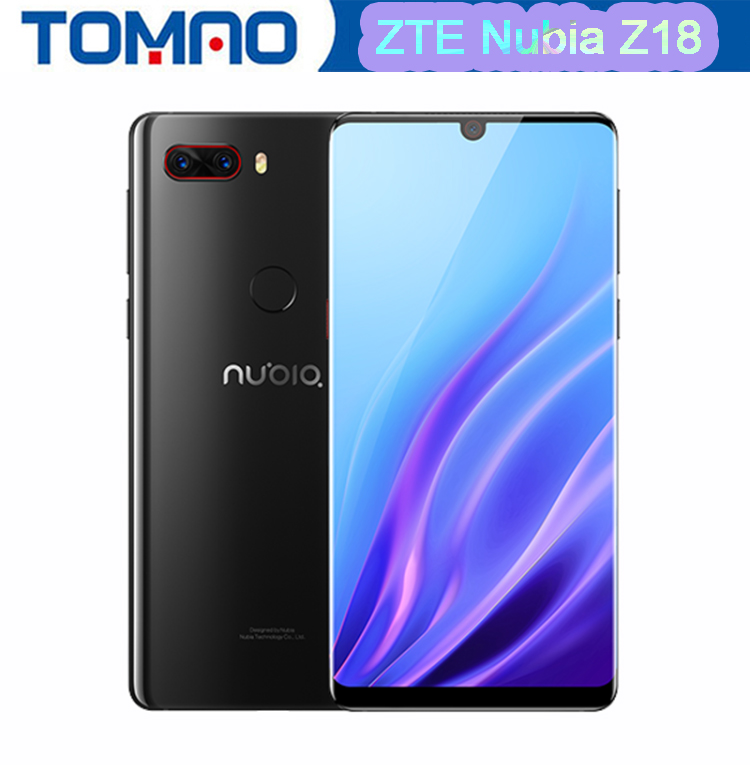 Original ZTE Nubia Z18 mobile phone 5.99'' Water Drop FHD Screen 6GB 64GB Snapdragon 845 Octa Core 16.0MP+20.0MP AI Camrea Phone-in Cellphones from Cellphones & Telecommunications    1