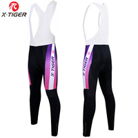 X Tiger Kaitlyn Spring Quick Dry Cycling Bib Pants With Gel Pad 100 Lycra Bicycle Pants