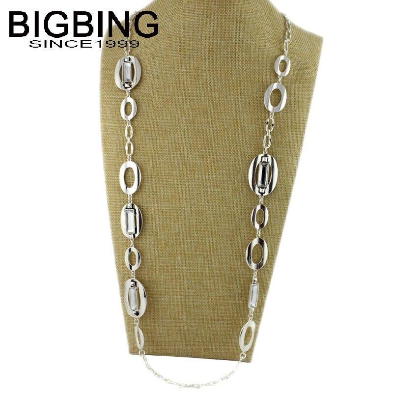 BIGBING Jewelry Silver...