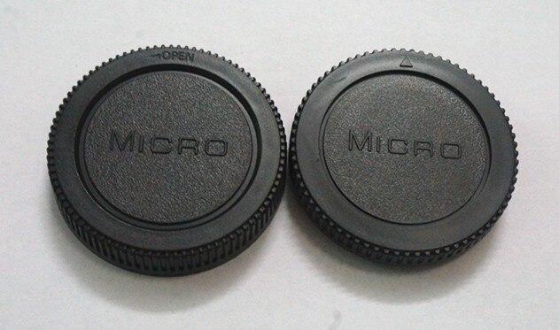 10 Пар камера Защитная крышка + Задняя Крышка Объектива для Micro M4/3 m43 Olympus Panasonic GF1/GF2/GF3 бесплатная доставка с отслеживанием номер
