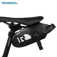 ROSWHEEL DRY Bike Bicycle Cycling Bags Panniers Full Waterproof PVC Rear Tail Saddle Bags for MTB Road Bike Free Shipping