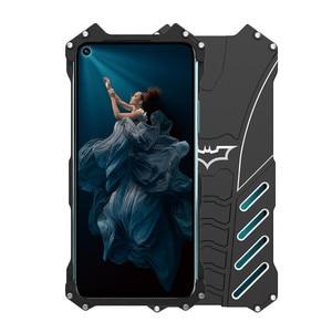 Image 5 - Luxury Batman Kickstand กรณีกันกระแทกสำหรับ Huawei Honor 20 Honor 20i 20Pro อลูมิเนียมกันชนผิวเกราะโลหะกรณีปกหลัง