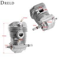 DRELD 1Pc Cylinder Piston Crankshaft Spark Plug Set For STIHL 023 025 MS230 MS250 Chainsaw Engine Garden Power Tools