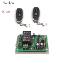Sleeplion DC 24 В 2 CH 2ch rf Беспроводной Дистанционное управление переключатель Системы 1 x передатчик + 1 x приемник, 315/433 МГц