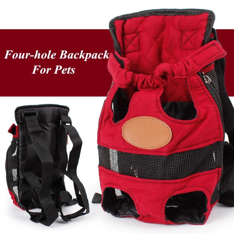 JCPAL камуфляж Четыре отверстия собака сумка Портативный собака носителей с двойными закрытым Безопасный и удобная сумка собак для маленьких...