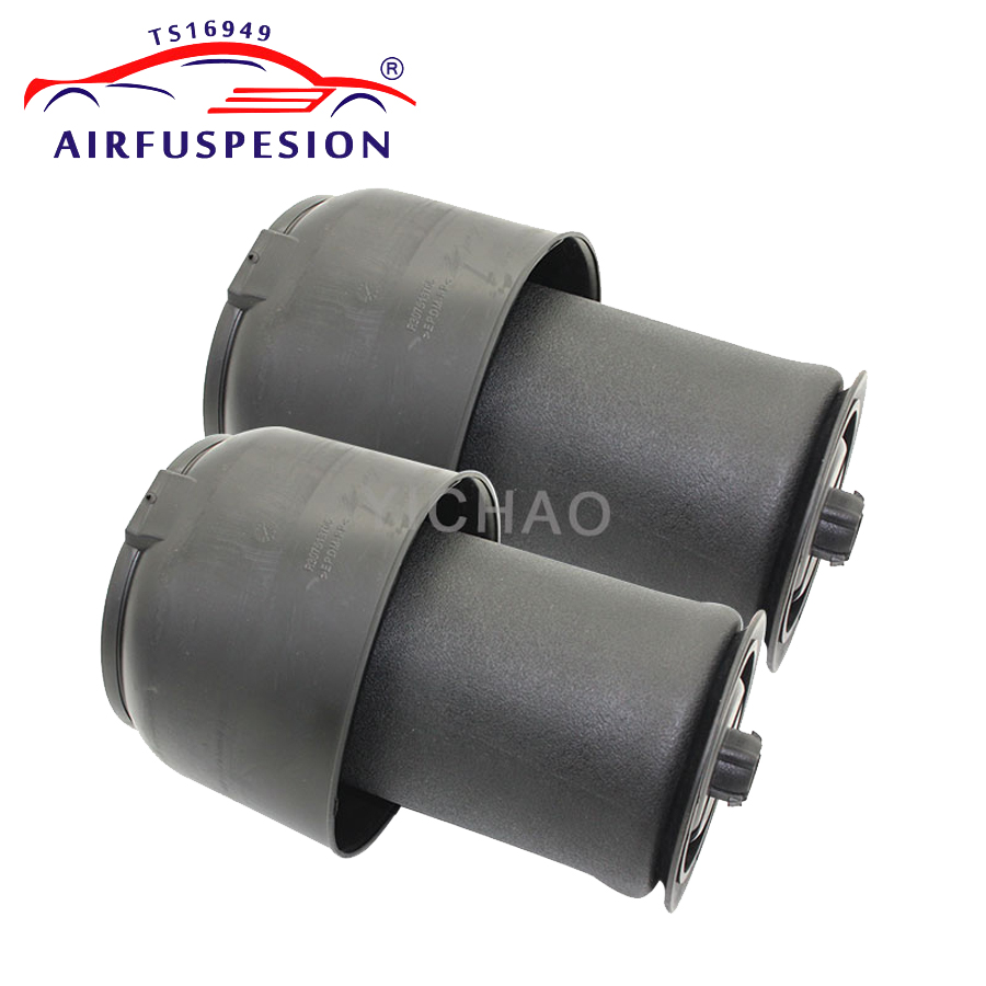Pair Rear Air Spring Bag Air Suspension Repair Kit for BMW X5 F15 X6 F16 F85 M50d 337126795013 37126795014 pair air suspension spring for bmw x5 e53 rear left