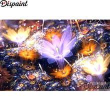 Dispaint Full Square/Round Drill 5D DIY Diamond Painting Flower landscape 3D Embroidery Cross Stitch Home Decor Gift A12532 подушки для малыша lorena canals подушка печенька 50х35 см