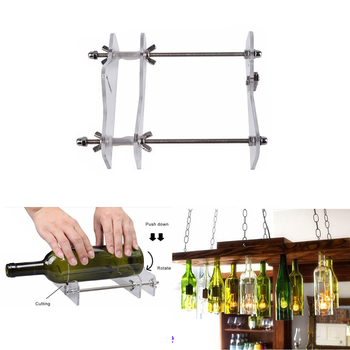 Glass Bottle Cutter Tool Professional For Bottles Cutting Glass Bottle-Cutter DIY cut tools machine Wine Beer 2019 New Drop Ship 600ml water bottle creative whale gradient color glass cute ocean animal bottles camping sport bottle tour drinkware drop ship