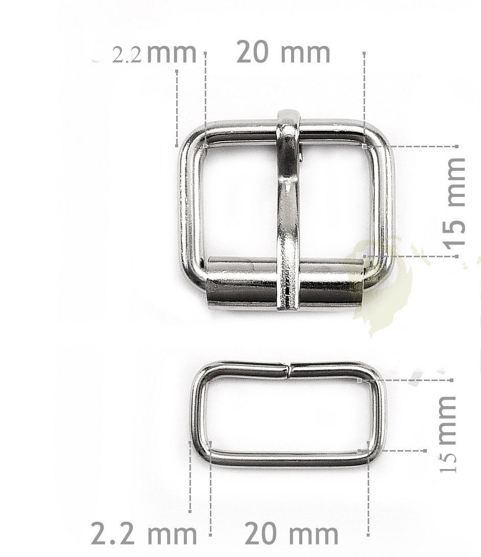 20 x 15 mm Half roller buckles wire formed and belt loops silver 3/4 inch strap sliders & buckles 40pcs/lot 20 x 15 mm half roller buckles wire formed and belt loops silver 3 4 inch strap sliders