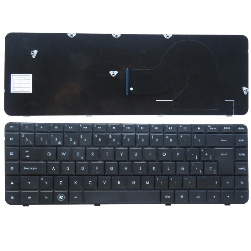 Spanyol billentyűzet a HP Compaq Presario CQ56 G56 CQ62 G62 SP laptop billentyűzetéhez