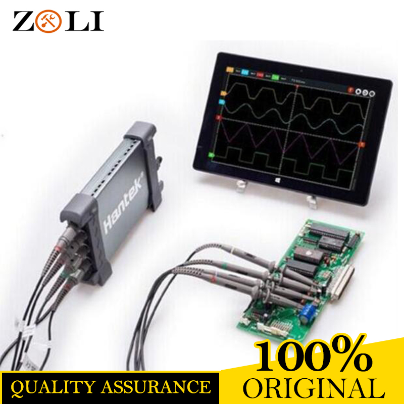 Free DHL Hantek 6074BD 4 Channels 70MHz Bandwidth 1GSa/s Feal-time Sampling Digital Storage Oscilloscope 6074BD On Sale hantek idso1070a 2ch 70mhz bandwidth digital oscilloscope support iphone ipad android windows oscilloscope wifi communication