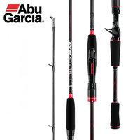 Abu garcia original novo preto max bmax baitcasting isca vara de pesca 1.98m 2.13 2.44 ml m mh potência carbono fiação vara de pesca|Varas de pescar| |  -