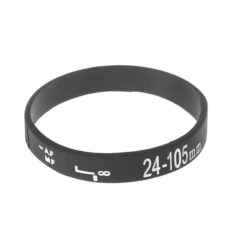 Soczewka silikonowa opaska na rękę bransoletka bransoletka pasek dla Canon NKON aparatu DSLR
