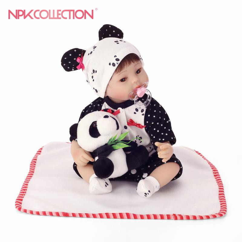 NPK 40cm Silicone baby reborn dolls, lifelike doll reborn babies toys for girl pink princess gift brinquedos for kids 18inch 45cm silicone baby reborn dolls lifelike doll reborn babies toys for girl princess gift brinquedos children s toys