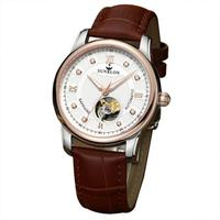 Sunblon - Automatic Mechanical Watch With Leather Band 2