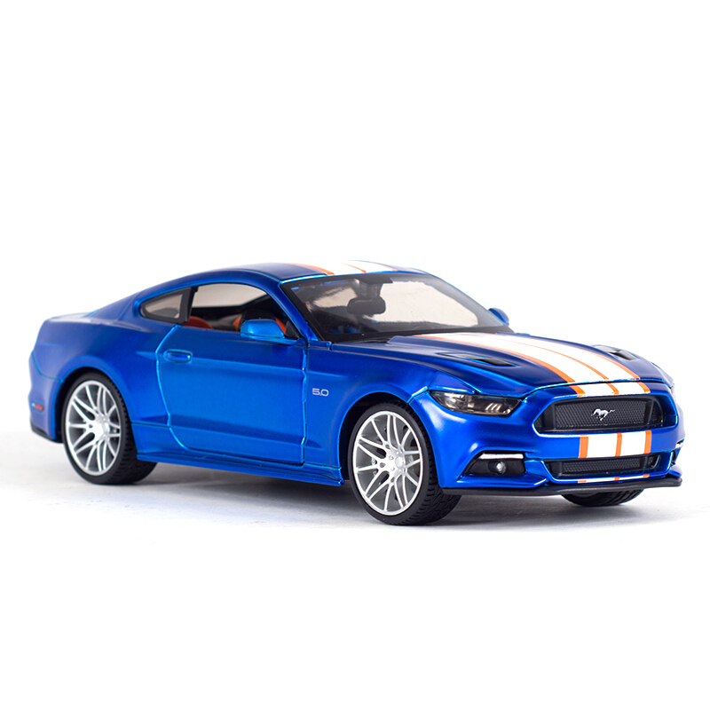Maisto 1:24 Ford Mustang GT 2015 Diecast Model Car Toy Cars-in Diecasts & Toy Vehicles from Toys & Hobbies    2