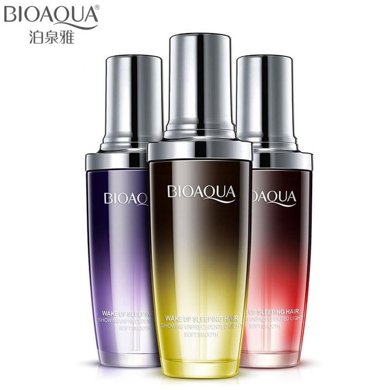BIOAQUA Brand Perfume Hair Care Essential Oil Hair Scalp Treatment Pure Argan Moisturizer Repair Hair Serum For Dry Hair Types цены онлайн