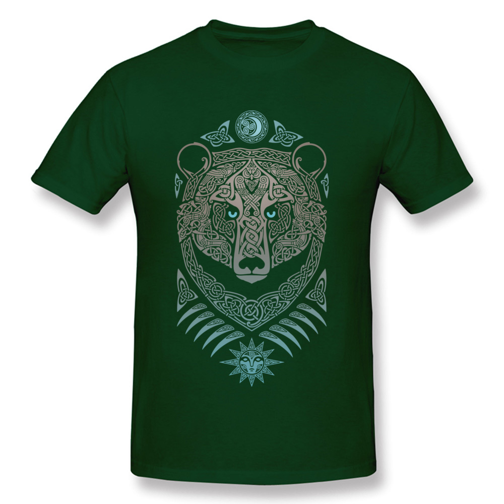 FOREST LORD Printed On Thanksgiving Day Pure Cotton Crew Neck Mens Tops & Tees Summer T-shirts 2018 Short Sleeve Top T-shirts FOREST LORD dark