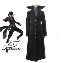 Persona 5 Joker Akira Kurusu Cosplay Costume with Red Gloves