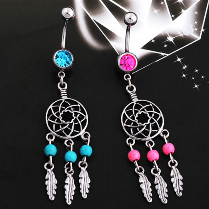 Belly Button Rings Body Jewelry Piercing Ombligo Crystal Belly Navel Barbell Bar Ring Body Piercing Navel Piercing Nombril Hot|piercing nombril|jewelry piercingpiercing ombligo - AliExpress