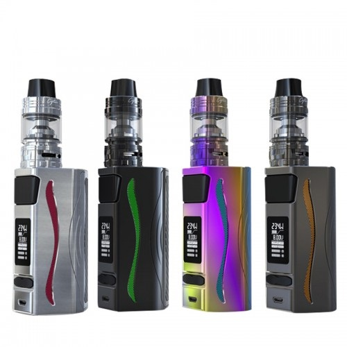 Original IJOY Genie PD270 TC mod kit dual 20700 Battery included RGB backlight LED flashlight function VS Ijoy Captain PD270 Mod original ijoy genie pd270 box mod vape ni ti ss 234w with dual 20700 battery ddopt iwepel tc chipset rgb backlight