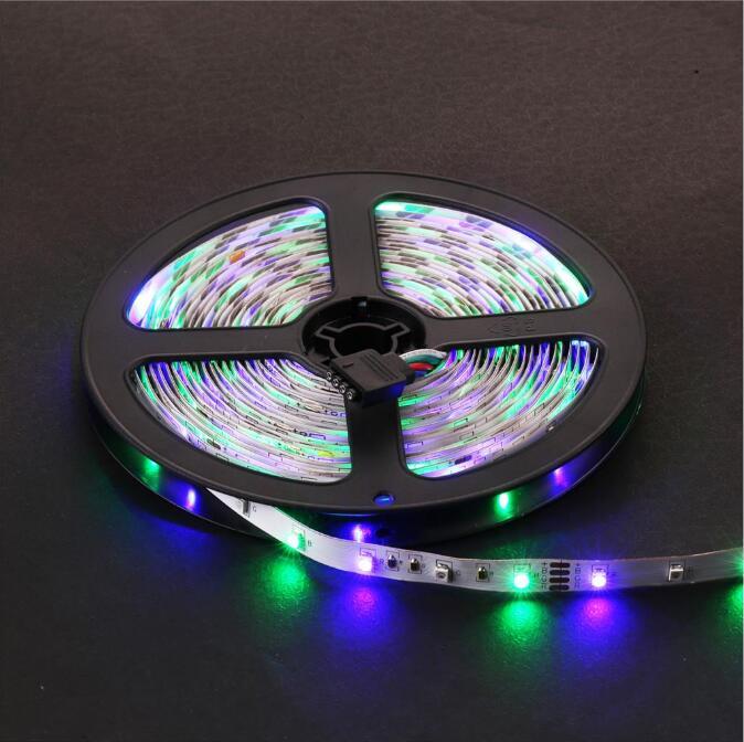 Tira de luz LED RGB impermeable IP65 60LEDs / m 5M 2835 SMD luces RGB - Iluminación LED - foto 5